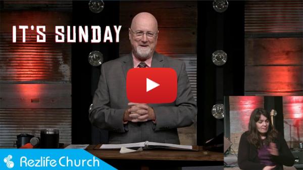 """""""It's Sunday"""" April 4, 2021 RezLife Church"""